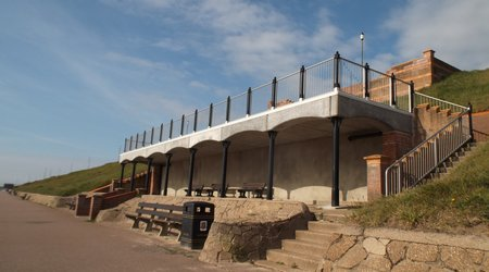 Gorleston Victorian Seafront Shelters