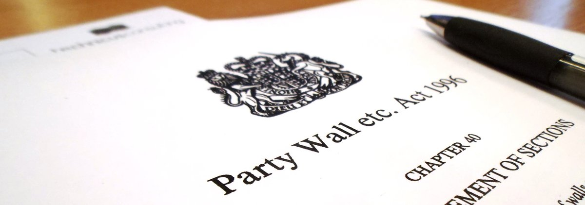 Party wall etc act 1996 for Party wall act 1996